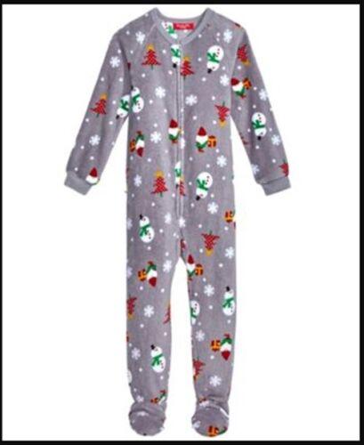 Family Pajamas 1-Pc Happy Gnomes Footed Paja Happy Gnomes