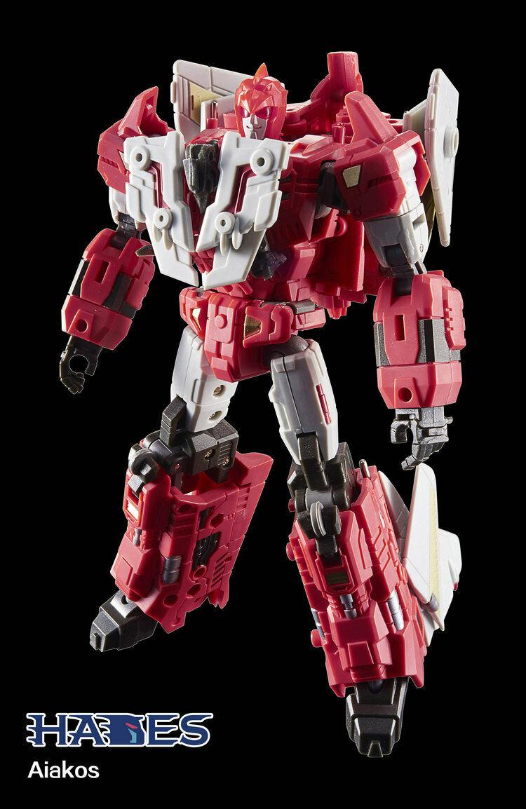 Transformers TFC-leksak Hades Liokaiser H-05 Aiakos i lager