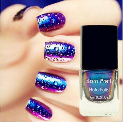 Born Pretty Chameleon Nail Polish Varnish 6ml (Black Base Color Needed) #217