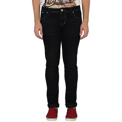 LAWMAN Men's SKINY FIT MID NIGHT BLACK JEANS(LAWMAN_Men's_SKINY FIT_JEANS)