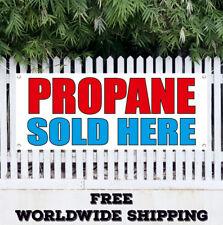 Propane Sold Here Swooper Flag Advertising Flag Feather Flag Butane Gas Tanks