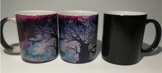 Harry Potter Color Changing After All This Time Magic Heat Sensitive Coffee Mug