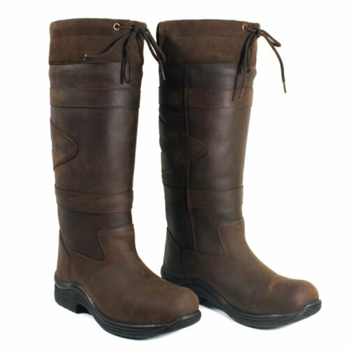 Riding Boots Chocolate UK//EU SIZES Horse Riding Boots Toggi Canyon Country