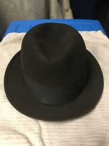 Image is loading Vintage-Brown-Stetson-Fedora-Selv-Edge-7-3x- d74e4b95ee2a