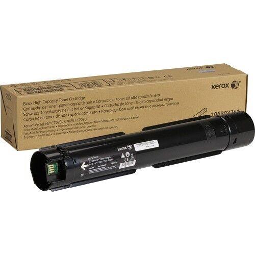 Black Xerox Original Toner Cartridge
