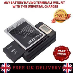 Pantalla-LCD-Bateria-del-Telefono-Movil-Externo-Universal-Cargador-De-Escritorio-Kit-De-Puerto-Usb