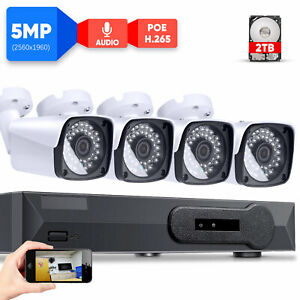 8-Channel-NVR-5MP-H-265-IP-Security-Camera-System-with-4-5MP-PoE-Bullet-Camera