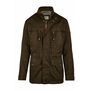 Details about Men's CAMEL ACTIVE 420352 1818 26 Dark Brown GORE TEX Hooded Coat Jacket