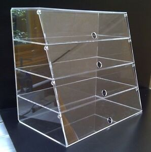Acrylic Display Case / Cabinet Cakes Cupcakes Patisseries Food ...