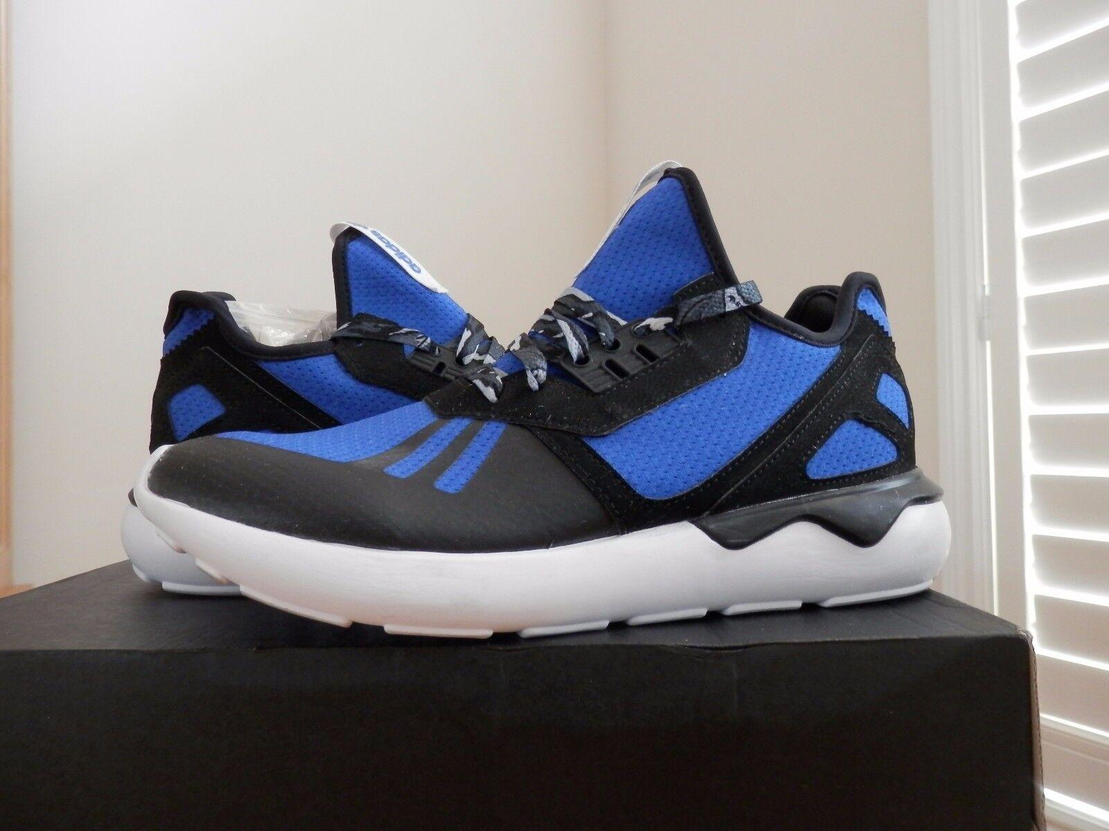 Uomo adidas tubulare scarpe originali runner scarpe tubulare nuove, blu / nero duke b25953 sku eeed6b