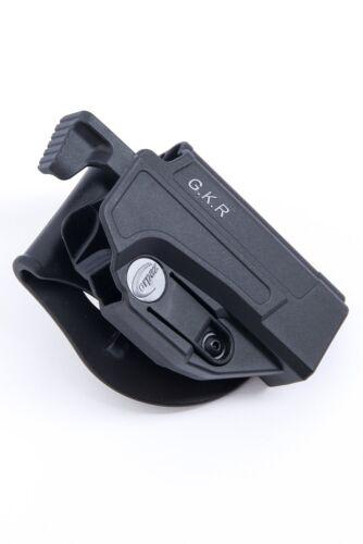Orpaz Glock 35 Thumb Release Holster Black Polymer Rotation Paddle  Adjustment
