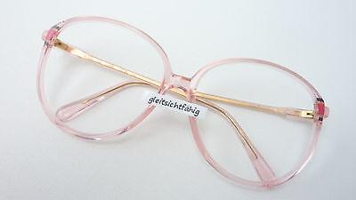 Occhiali Modello Grandi Bicchieri Di Plastica Telaio Da Donna Versione Silhouette Rosa Taglia L-mostra Il Titolo Originale
