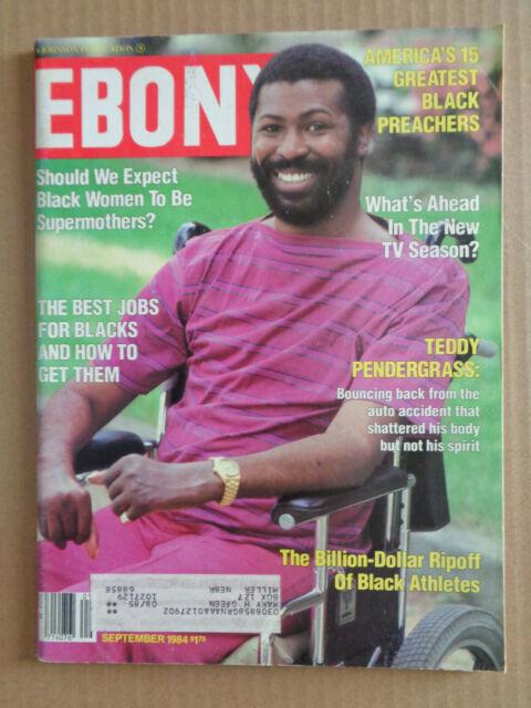 EBONY magazine SEPTEMBER 1984 TEDDY PENDERGRASS New TV ...