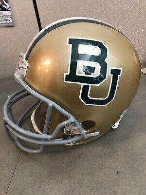 NCAA Baylor Bears Full Size Speed Replica Helmet Medium Baylor-Green