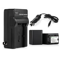 Bp-727 Bp727 3000mah Battery +charger For Canon Vixia Hf R300 R400 R500 R600 R62
