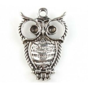 Fashion-Charm-Owl-Animal-Vintage-Silver-Alloy-Pendant-for-Necklace-142978