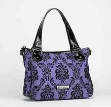 Gg Rose By Rock Rebel Day Bag Violet Vixen With Additional Strap Handbag Purse
