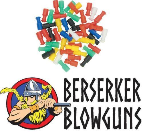Made in the .40 Cal Assorted Blowgun Stun Darts from Berserker Blowguns 100