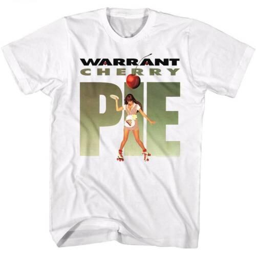 Warrant Cherry Pie 2 Adulte Blanc T-Shirt
