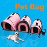 Portable Pet Dog Cat Sided Carrier Travel Tote Shoulder Bag Cage Kennel