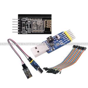 TTL seriale WIFI di WIFI ESP-M2 ESP8285 Modulo +6 in 1 Cavo Modulo Seriale CP2102