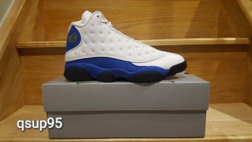 new style 33839 536cd Herren Hyper 117 Blue Jordan Retro 4J 414571 Xiii 13 Royal Air Neu Weiß 15  Größe Yf6b7vygI