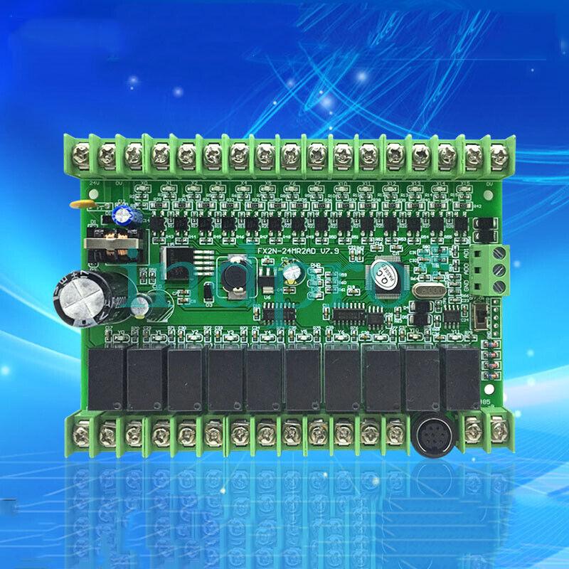 FX2N-24MR2AD industrial control board PLC, PLC board, PLC