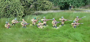 28mm-WW2-Russian-Soviet-Rifle-Squad-10-figures-Bolt-Action-Chain-of-Command