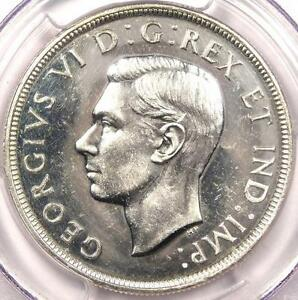 1947-034-Dot-034-Canada-Dollar-PCGS-Uncirculated-Rare-Dot-Variety-BU-MS-Coin