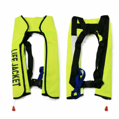 150N Adult Life Jacket Automatic Inflatable Sailing Boating Canoeing Kayaking HQ