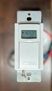 Intermatic-ST01C-Self-Adjusting-Wall-Switch-Timer-Controls-Lights
