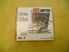 PC GAME-SIM COPTER + DUNGEON KEEPER-2 CD-Computer-Gioco-Games-ITALIANO-ITA