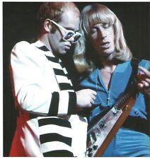 ELTON JOHN and Davey Johnstone magazine PHOTO / mini Poster 8X8 inches