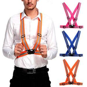 Reflective-Adjustable-Safety-Security-High-Visibility-Vest-Gear-Stripes-Jacket-s