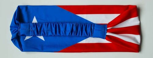 outdoors Puerto Rico Flag Headband scarf for yoga exercise bandana