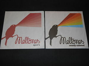 MELTONES-LOT-DE-2-CD-PROMO-EP-N-1-NEARLY-COLORED-2010-2011