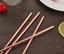 AU Stock 5pc Premium Stainless Steel Metal Rose Gold Drinking Straw /& Brush Set
