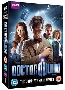 Doctor-Who-Serie-Completa-6-Sei-Box-DVD-Set-Dr-Who-BBC-Sei-6th-Sixth-Stagione-6