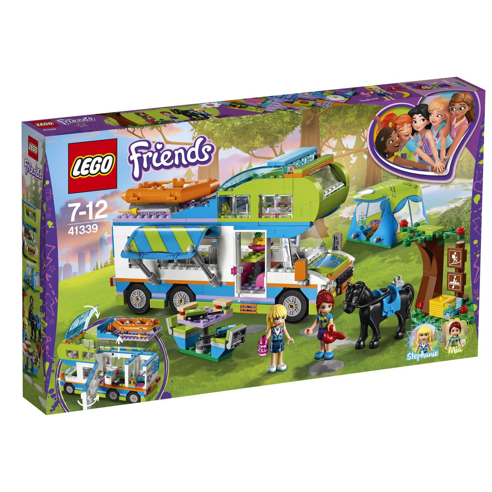 nessun minimo LEGO LEGO LEGO ® Friends mias CAMPER mia's CAMPER VAN (41339)  più ordine