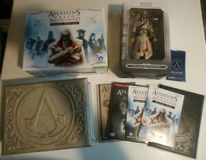 XBOX-360-Ubisoft-Assassin-039-s-Creed-Brotherhood-Codex-Edition-set-litografie
