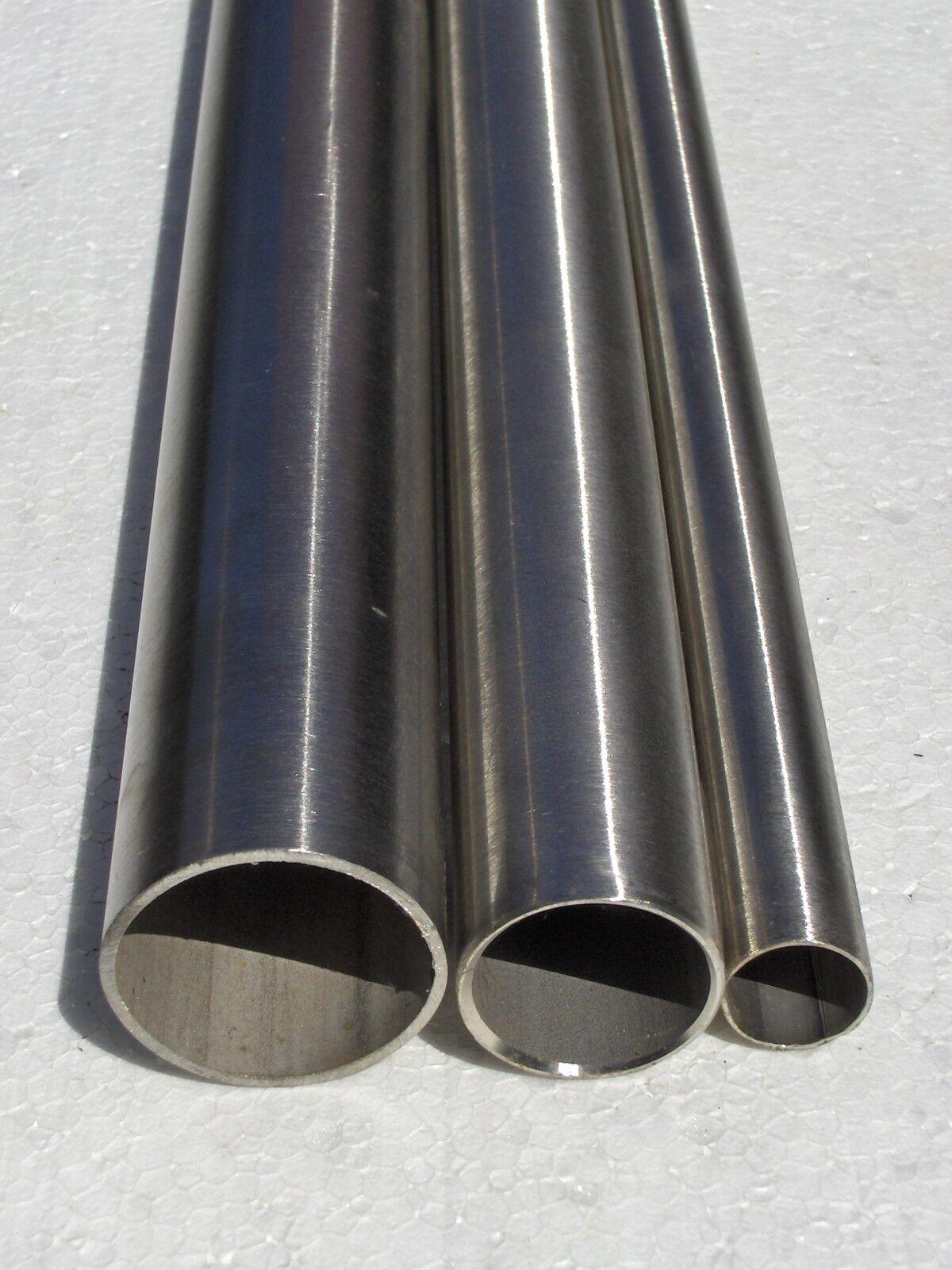 Tube en acier acier acier inoxydable v2a ø 42,4x2,0mm L = 613 MM 45a364