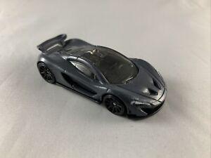 HOT-Wheels-2020-McLaren-P1-GRIGIO-Diecast-da-collezione-Nuovo-di-zecca-loose-1-64