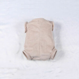 """Reborn Baby Dolls Kit Suede Cloth Body Fit 22/"""" Baby Doll 3//4 Arms and 3//4 Legs"""