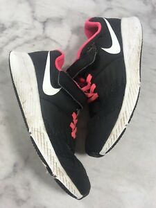 Nike Star Runner Size 3Y Black White Pink Kids Youth Shoe Sneaker ... 91ac8b9a6