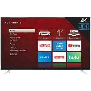 "TCL 65"" 4-Series 4K UHD HDR Roku Smart TV - 3 HDMI - 65S423"