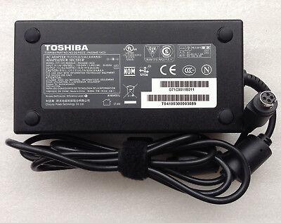 Original OEM Toshiba 180W Cord//Charger Qosmio X70-A-11V,PA5084E-1AC3,Notebook PC