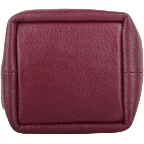 Holder Money Pouch Mens Prime Hide Leather Coin Ladies
