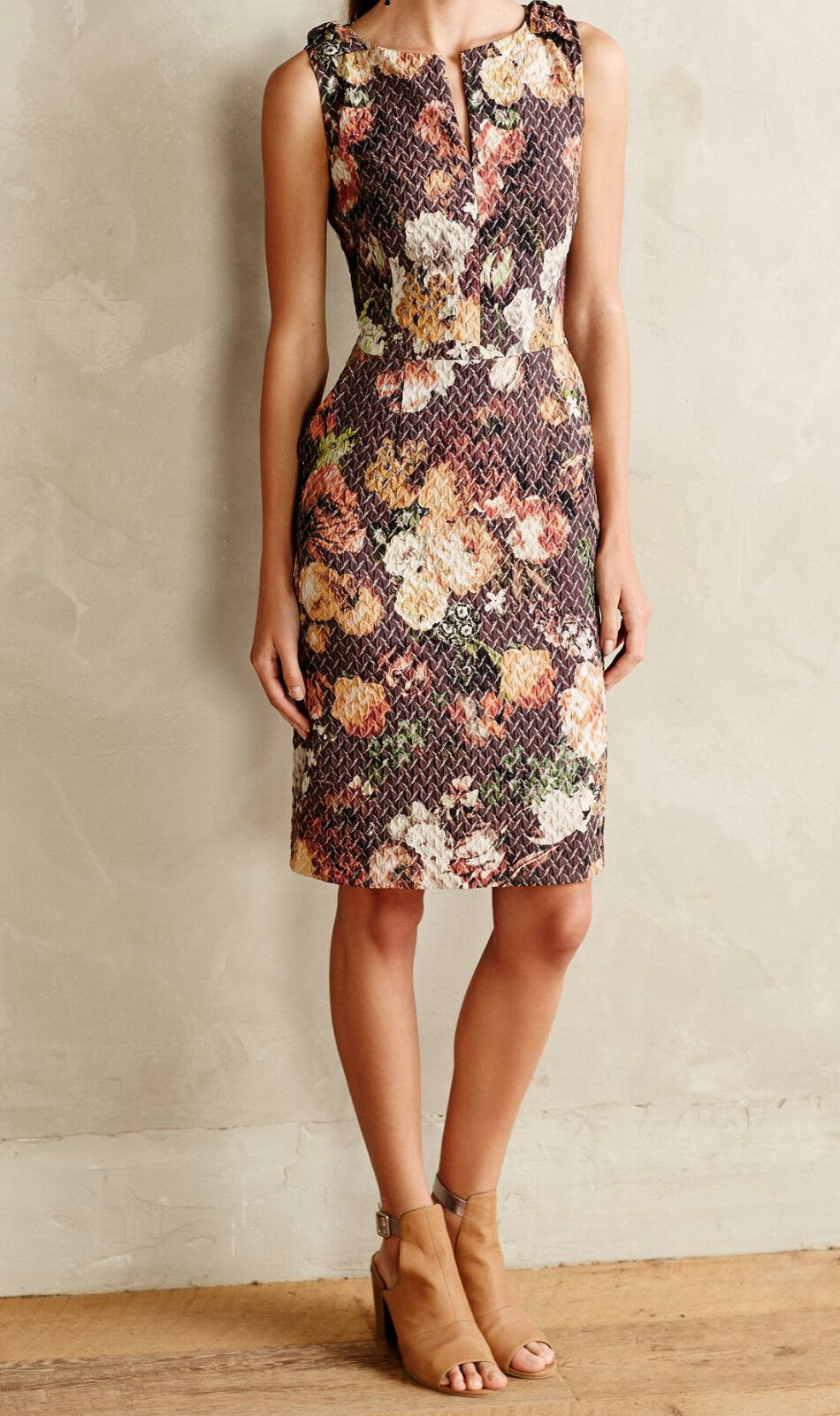 Tabitha Sheath Quilted Tema Dress Various colors and Sizes NW ANTHROPOLOGIE Tag