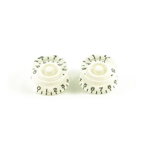 White Set of 2 USA fit and CTS pots WD Music Speed Knob