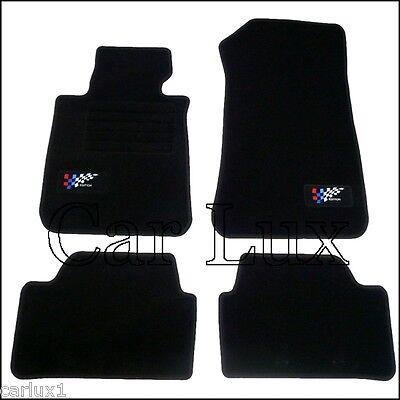 Alfombrillas a medida y talonera BMW serie 1 E87 desde 2004-2012 Edition Velour